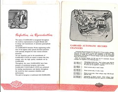 Gramophone Equipment Reda