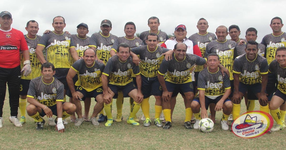 Este sábado la final del campeonato master de fútbol copa Dr. Deyton Alcívar