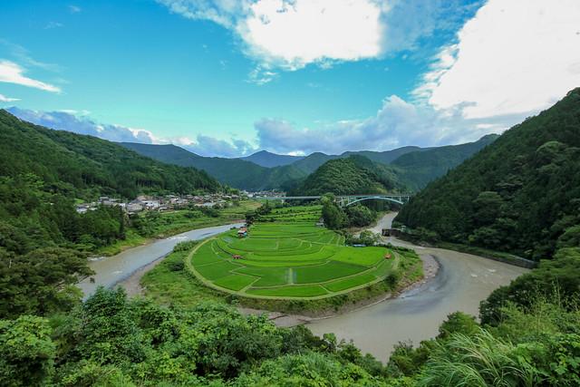 重要文化的景観、和歌山県あらぎ島, Canon EOS 7D MARK II, Sigma 8-16mm f/4.5-5.6 DC HSM