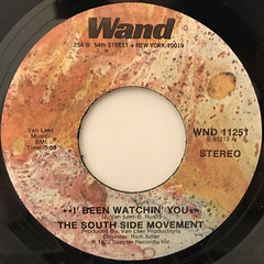 THE SOUTH SIDE MOVEMENT:I' BEEN WATCHIN' YOU(LABEL SIDE-A)