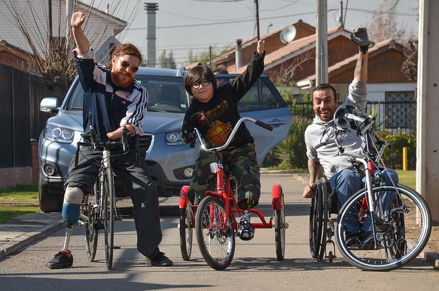26-Jul-18-Ex embajador de Teletón recibe bicicleta adaptada