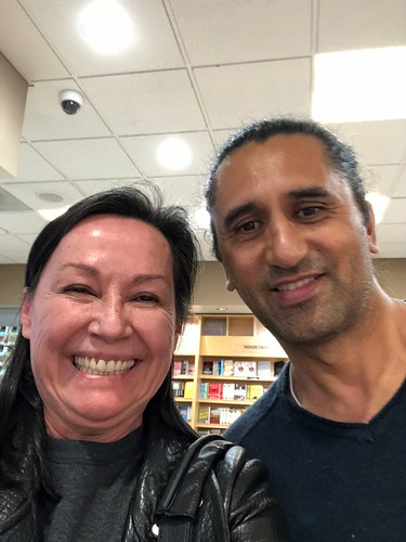 Selfie with Cliff Curtis