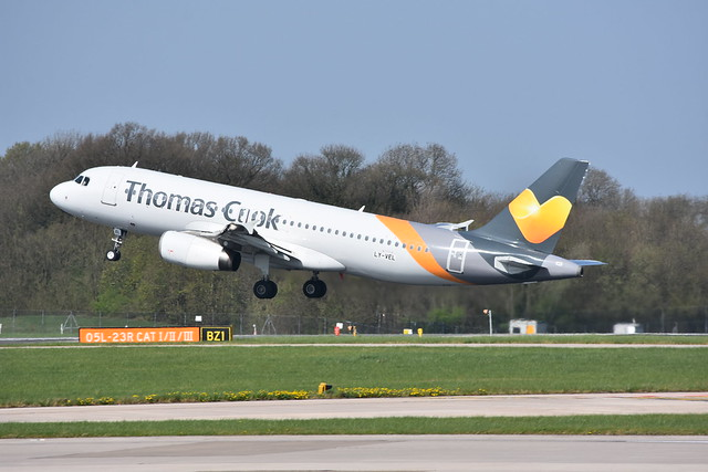 Thomas Cook (Avion Express) A320 LY-VEL