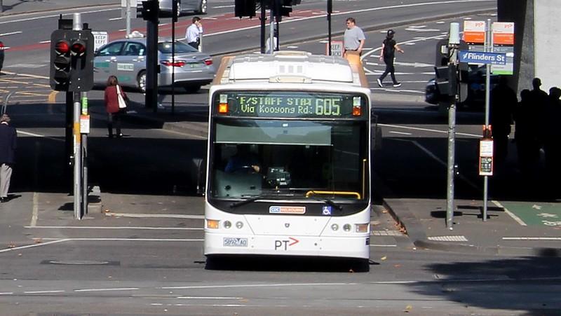 Bus 605 at Queensbridge