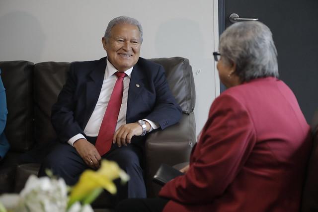 Reunión Triangulo Norte Centroamerica con Vicepresidente EE.UU (1)