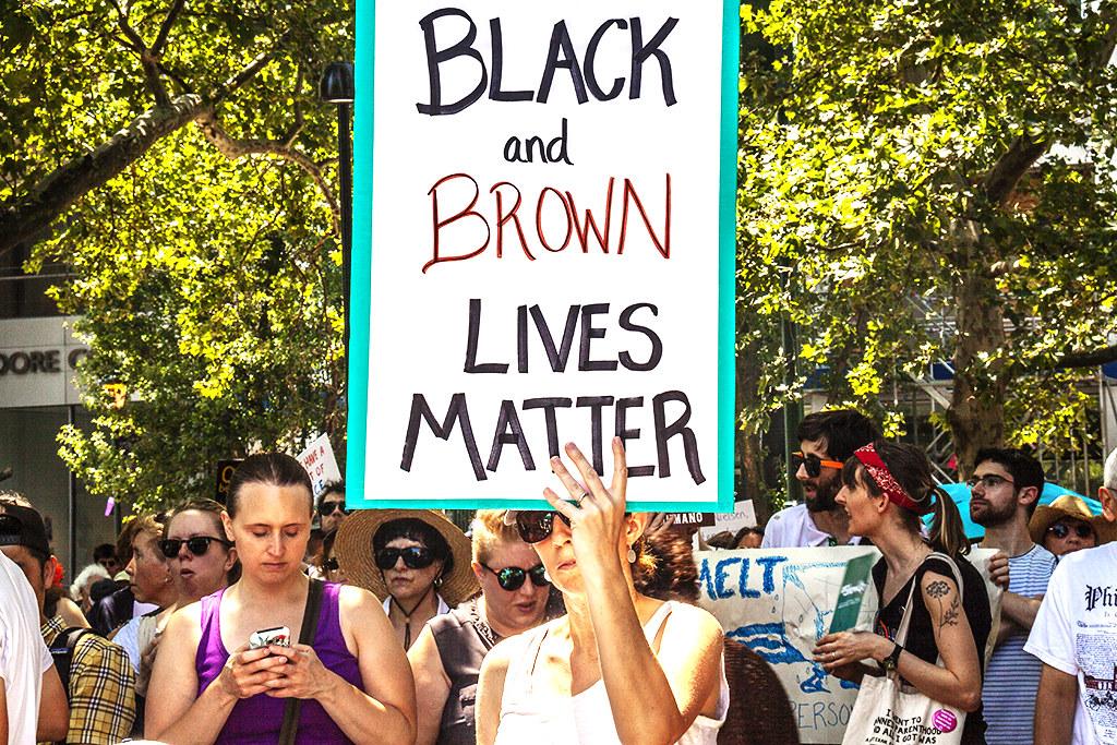 BLACK AND BROWN LIVES MATTER--Logan Circle
