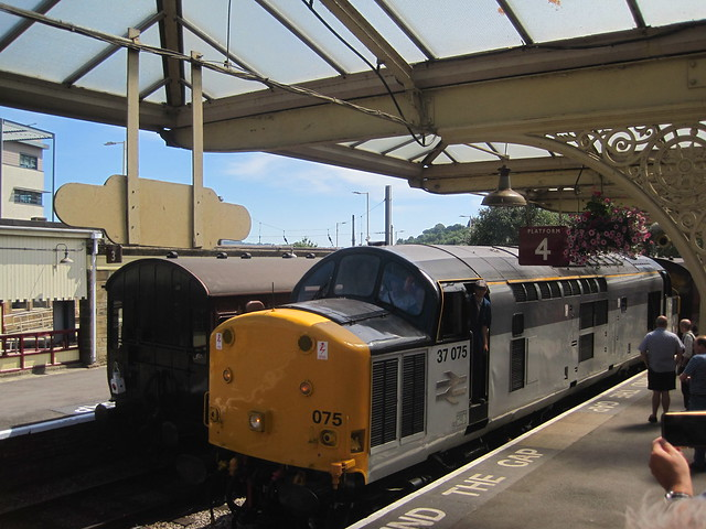 KWVR 37 075. Keighley, Canon POWERSHOT SD1200 IS