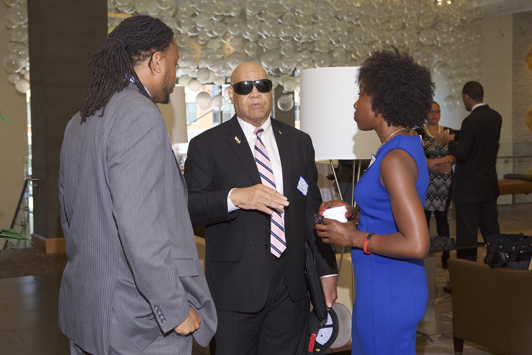 Dr. Eugene Butler, Kendrick Tillman and Caryn York