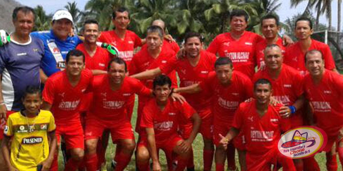GADM Chone fue campeón de fútbol máster en Crucita
