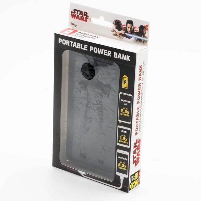 波巴·費特專用?! 《星際大戰》碳凍韓索羅行動電源 Han Solo In Carbonite Power Bank