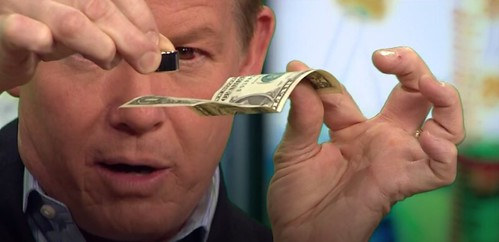 Dollar bill Magnet test