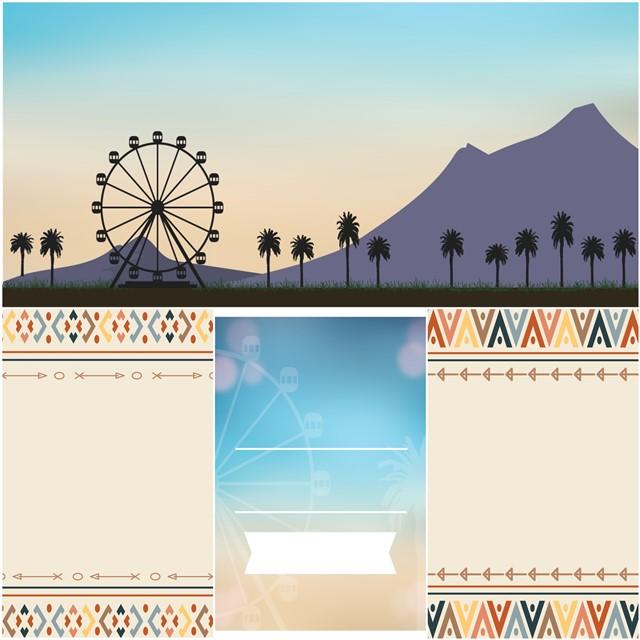 Coachella Party Set