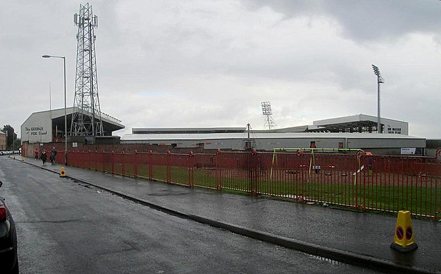 Tannadice Park, Dundee From north-west