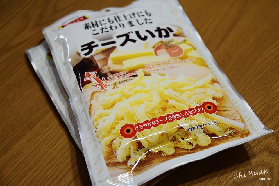 [日本。逛超市]MARUESUチーズいか起司乳酪魷魚絲。起司控的美味零食
