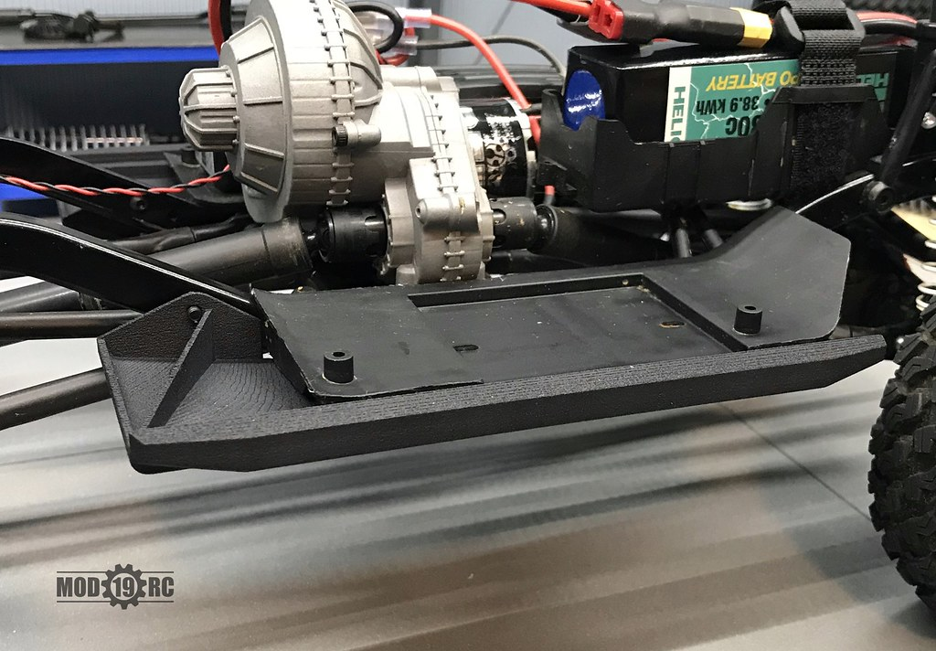 Axial SCX10ii Trail Honcho Rock Slider/Skid Plate Combos