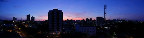Panorama of Sorocaba, Brazil.