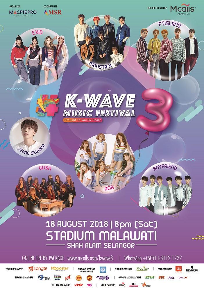 Festival Muzik K-Wave 3