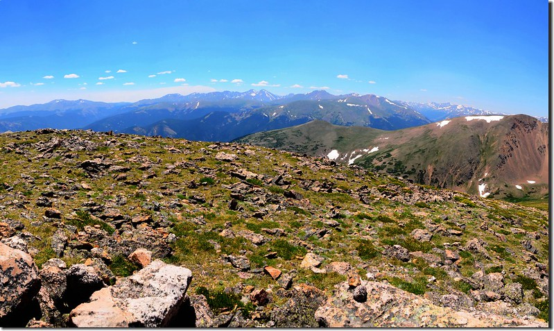 Looking south from Breckenridge Peak's summit