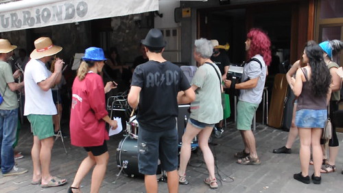 Sanpedroak 2018 Asteasun, musikarien kalejira