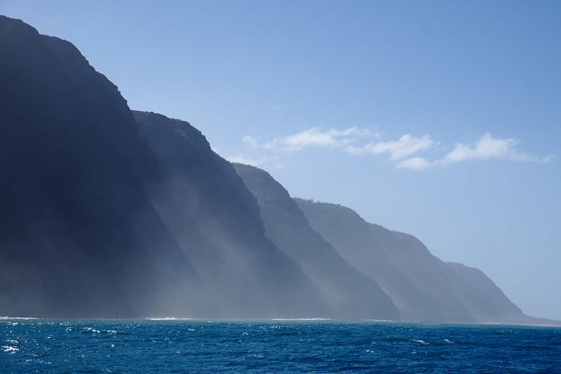 Last cliffs, Nā Pali Coast