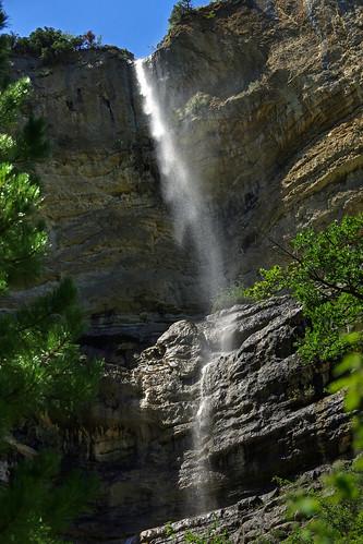 La cascade intermittente.