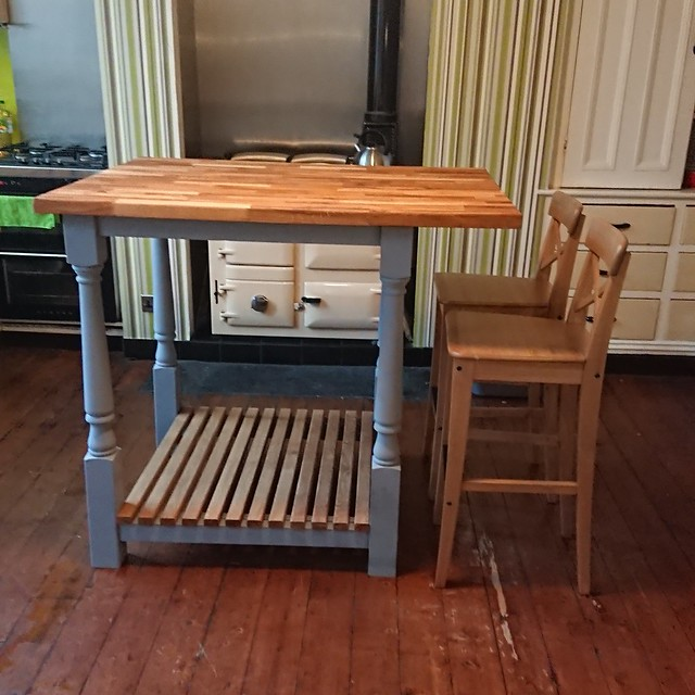 One Home Made Kitchen Island