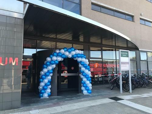 Ballonboog 6m Diplomauitreiking Erasmus Universiteit Rotterdam