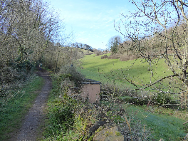 Beginning of Fishchowter's Lane, Totnes