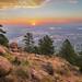 Boulder Colorado Sunrise by Bernie Duhamel