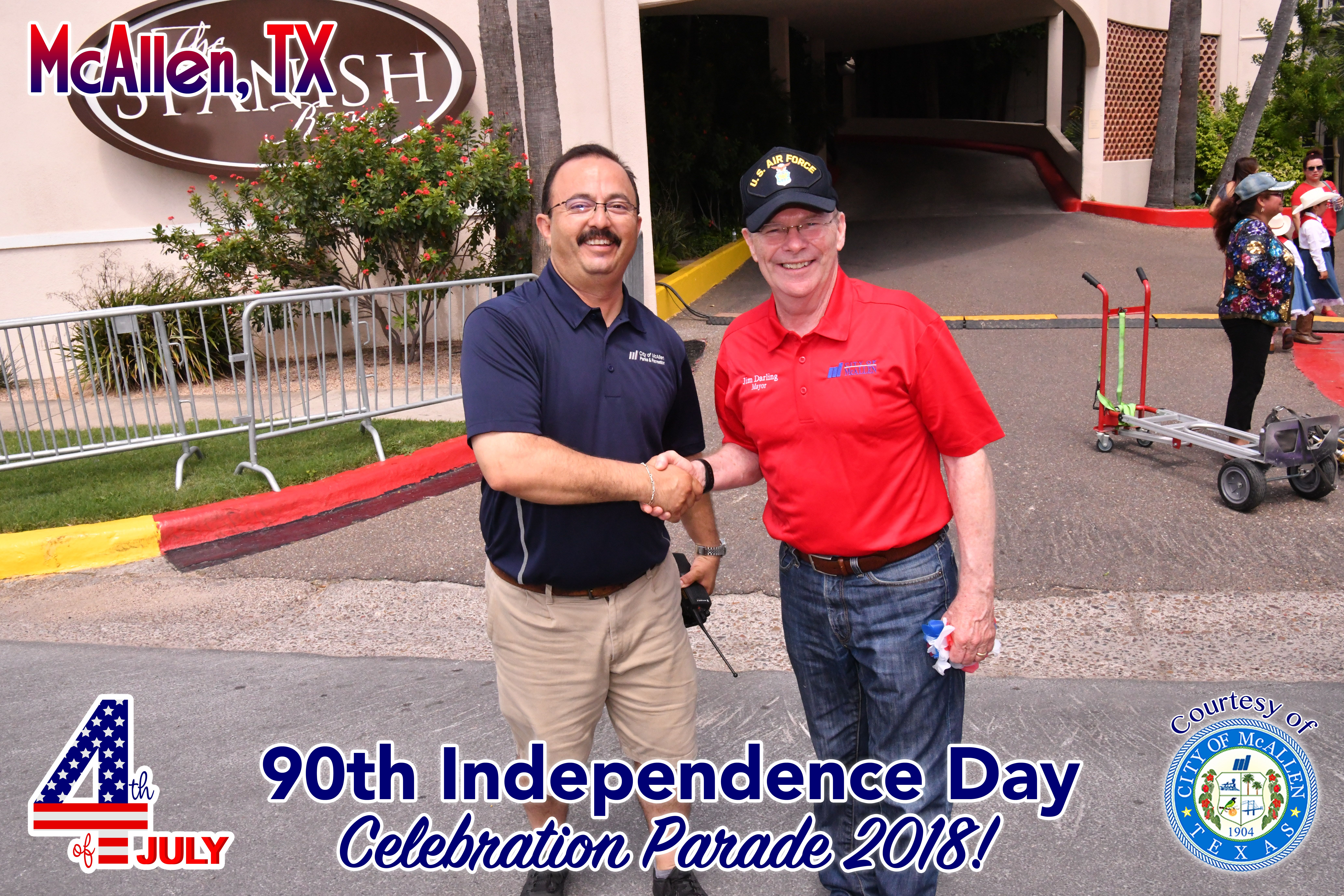 90th McAllen 4th of July Celebration Parade 2018 – Dignitaries