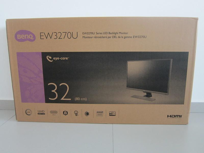 BenQ EW3270U - Box Front
