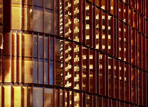 australia sydney nsw city skyscraper abstract architecture building windows lights reflections sunset geometric golden angles lines structure yellow buildings shapes