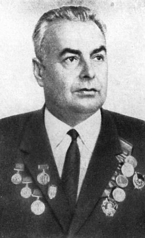 П.С.Шараев, председатель Ярцевского горсовета