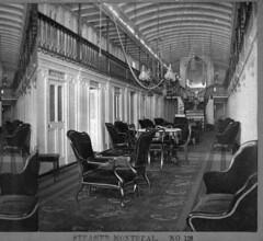 Interior of the steamer Montreal / Intérieur du navire à vapeur Montreal