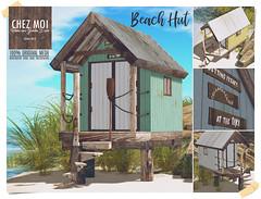 Beach Hut CHEZ MOI