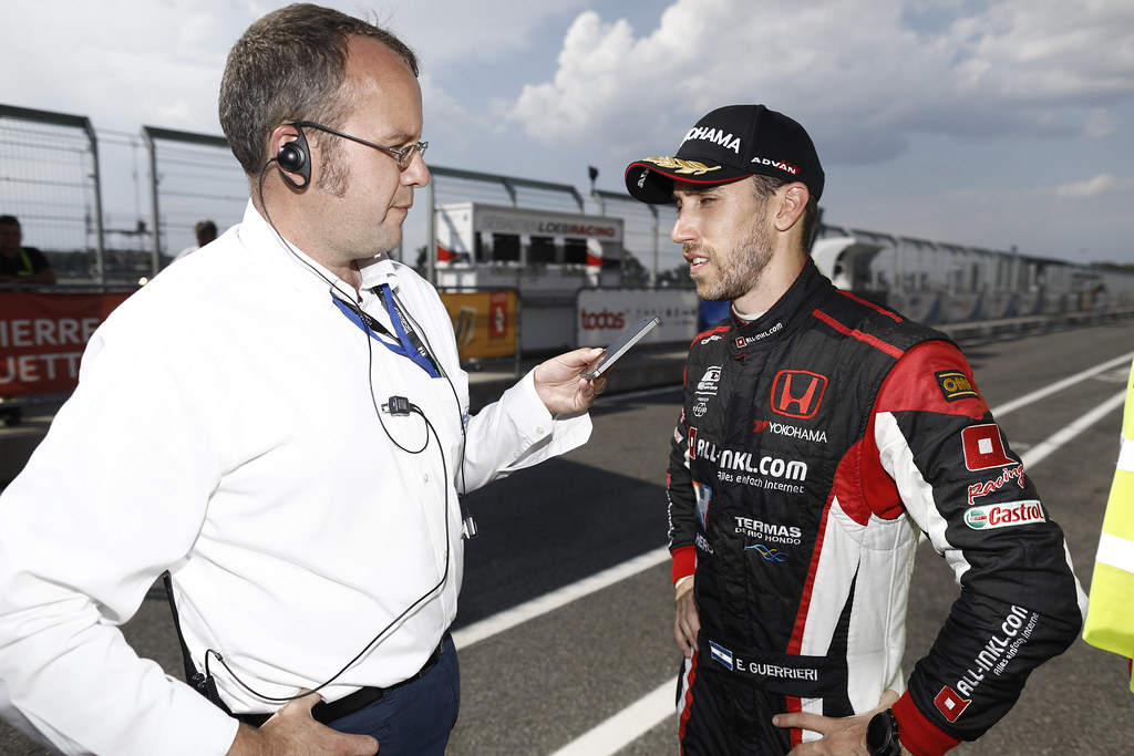 RODGERS, Richard Press Officer WTCR, portrait GUERRIERI Esteban, (arg), Honda Civic TCR team ALL-INKL.COM Munnich Motorsport, portrait during the 2018 FIA WTCR World Touring Car cup race of Slovakia at Slovakia Ring, from july 13 to 15 - Photo François Flamand / DPPI.