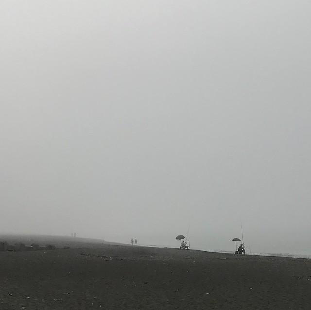 smoggy beach