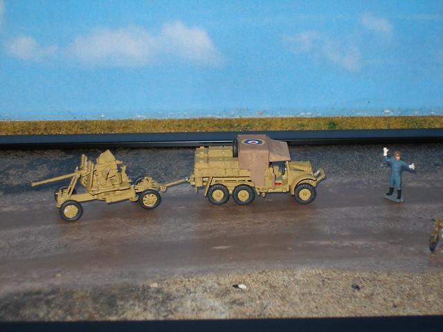 Bofors 40 mm Gun & Tractor
