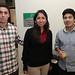 Felipe Fuenzalida, Karina Olivos y Rodrigo Magaña