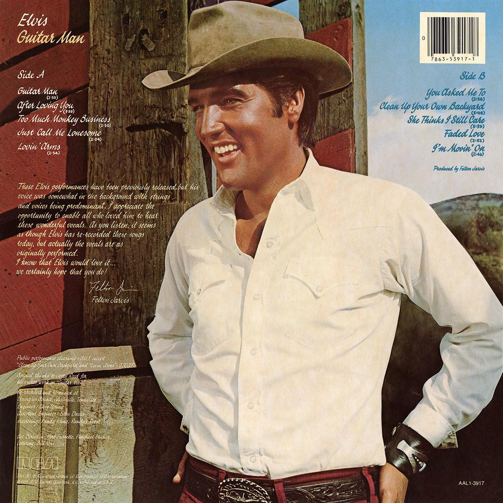 Elvis Presley - Guitar Man
