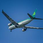 aer lingus flight 147 moments before landing
