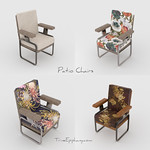 Patio Chairs 3D Models