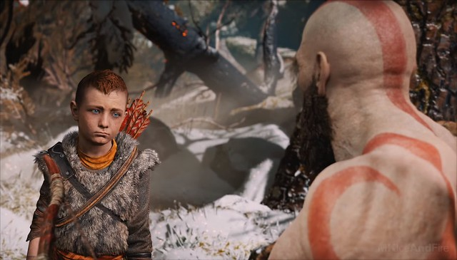 God of War (2018) - Era in quel momento che Atreus conosceva