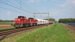 Sint Joost DBC 6502-6504 met kalk-staaltrein