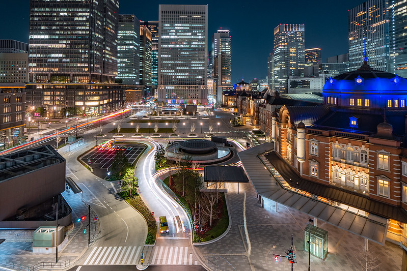 東京車站|Tokyo city
