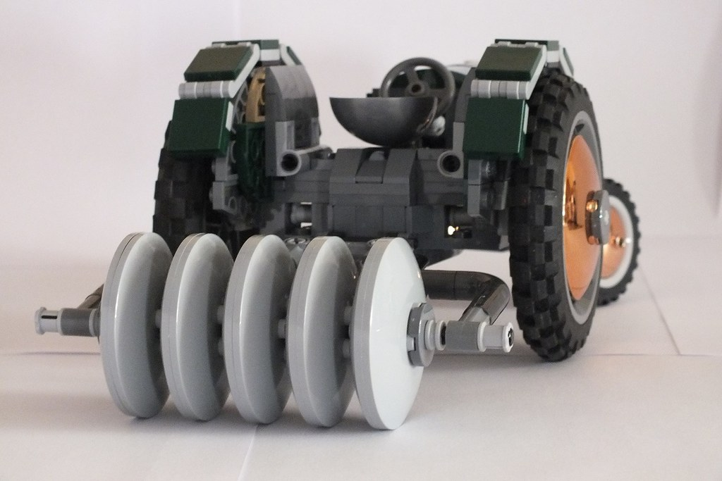 Custom Replacement Lego Inside Tour Ferguson Tractor 4000025 Stickers Decals