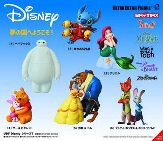 歡迎來到夢想國度~ MEDICOM TOY UDF 系列【迪士尼系列第七彈】Disney シリーズ7