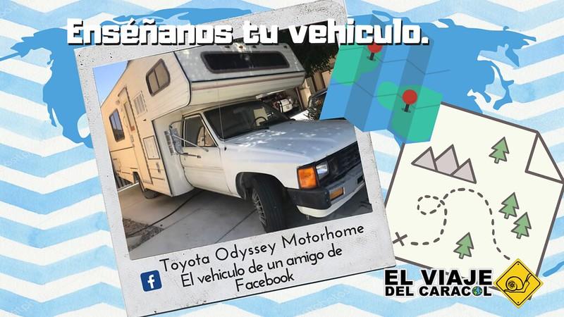 Toyota Odyssey Motorhome