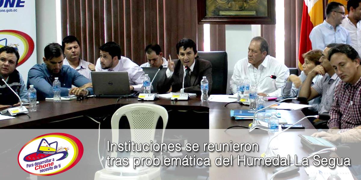 Instituciones se reunieron tras problemática del Humedal La Segua
