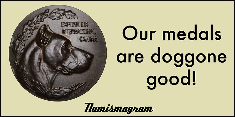 E-Sylum Numismagram ad11 Doggone Good